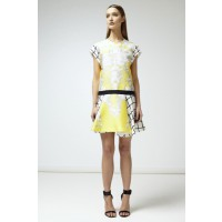 Nicola Finetti Loose Low Waist Bone Dress, $335. http://www.nicolafinetti.com/eboutique/collections/1216-loose-low-waist-bone-dress.html