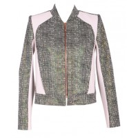 The bomber jacket: Ginger & Smart Hologram Jacket, $699.