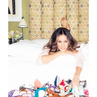 Eat your heart out, Carrie Bradshaw! SJP recently launched a footwear collection in collaboration with Manolo Blahnik's CEO. The name of the line? SJP, of course! Source: The Coveteur. http://www.thecoveteur.com/sarah-jessica-parker-gayle-king-adam-glassm