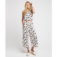 Bardot Poppy Cami and Floral Culotte, $59.95 and $99.95. http://www.bardot.com.au/Poppy-Cami-.aspx?p520630&cr=084818 http://www.bardot.com.au/Floral-Culotte.aspx?p533068&cr=025242