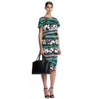 Scanlan Theodore Leaf Print Top and Skirt, $240 and $300. http://www.scanlantheodore.com/tops/c45131-leaf-print-top http://www.scanlantheodore.com/skirts/c45128-leaf-print-skirt