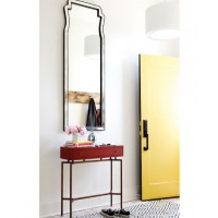 Paint your door a bright hue. Designer: Chatelaine. Source: DecorPad. http://www.decorpad.com/photo.htm?photoId=105433&index=5&currentPage=15&spaceId=12