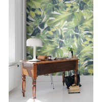 Tropical prints. Image: Brit & Co. http://www.brit.co/rebel-walls-wallpaper/