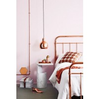 Metallics. Image: Giorgi via Brit & Co. http://www.brit.co/metallic-home-decor/