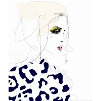 'Draw the Line' by Leigh Viner from Etsy, from $30.94 (for 8 x 12in print). https://www.etsy.com/au/listing/194997846/draw-the-line-fashion-illustration-art?ref=sr_gallery_5&ga_search_query=leigh+viner&ga_ref=auto1&ga_search_type=all&ga_view_type=gallery