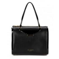 Ted Baker Baram Black Handbag, $349. Stockists: 1300 786 896
