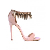 Party time: Siren Shoes Krissy Heels, $159.95. http://www.sirenshoes.com.au/krissy.html?color=Flesh%20Suede