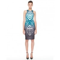 Same silhouette: by johnny Exclusive Angle Stripe to the Knee Dress from The Iconic, $280. http://www.theiconic.com.au/EXCLUSIVE-Angle-Stripe-to-the-Knee-Dress-109070.html