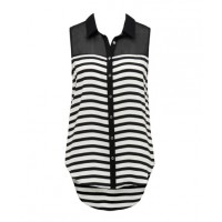 Office appropriate: Forever New Connie Striped Sleeveless Shirt, $59.99. http://www.forevernew.com.au/Connie-striped-sleeveless-shirt.aspx?p45771&cr=123915
