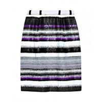 Office appropriate: Oscar de la Renta Striped Tweed Mini Skirt from THE OUTNET, £261.04. http://www.theoutnet.com/product/310373