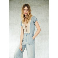 Free People On the Road Romper, $259. http://www.freepeople.com/clothes-denim-jeans/on-the-road-romper/_/PRODUCTOPTIONIDS/ 6E91367A-B871-414C-991D-CE6AC2766993/