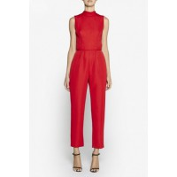 Camilla and Marc Sync Jumpsuit, $620. http://www.camillaandmarc.com/sync-jumpsuit-scarlet-red.html