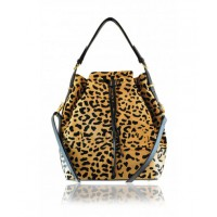 Rachael Ruddick Fontenay Bucket Bag in Leopard Print Calfhair, $650. http://rachaelruddick.com/index.php/handbags/rr-fontenay-bucket-bag-493.html