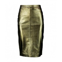 Viparo Savannah Gold Rush High-Waisted Leather Skirt, $199.95. http://www.viparo.com.au/womens/bottoms/gold-rush-high-waisted-pencil-nz-lambskin-leather-skirt-savannah.html