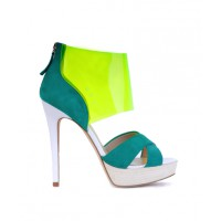 Siren Shoes Micky Heel in Teal/Yellow, $139.95. http://www.sirenshoes.com.au/micky.html?color=Teal%20&%20Yellow%20Combo