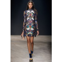 Mary Katrantzou, London Fashion Week Autumn/Winter 2014. Source: Kirsten Owen via Style.com. http://www.style.com/fashionshows/complete/slideshow/F2014RTW-MKATRANTZOU/#1