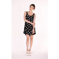 Her Pony Dahlia Polkadot Sequin Shift Dress, $159. http://herpony.com/products/dahlia-sequin-shift/