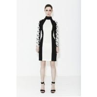 m a r i a m.seddiq White Rose Long Sleeve Lace Dress, $249. http://www.mariamseddiq.com/white-rose/