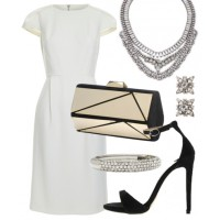 A classic white dress is a wardrobe essential and can be styled to suit almost every occasion.