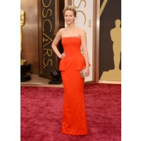 Jennifer Lawrence in Dior. Source: The Oscars/ABC. http://oscar.go.com/red-carpet/photos/2014-oscars-red-carpet-spectrum/media/476213905
