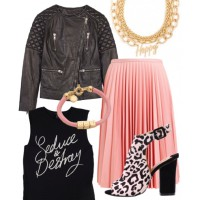 Outfit three - Rosy rebel