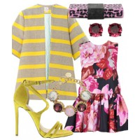 Outfit two - Pink prints