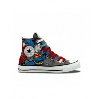 Converse Chuck Taylor All Star Hi DC Comics Superman Sneakers from Authentics, $80. http://www.authentics.com.au/135286-phaeton-grey-varsity-red?SID=6umm5vs2uv3bpjfo1jjn8nuii0&___store=auth_english