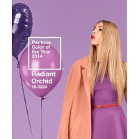 Radiant Orchid, Pantone's Colour of the Year 2014. Source: @Pantone/Instagram. http://instagram.com/p/kZW7GERHku/