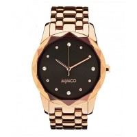 Mimco Large Round Glimmer Watch in Rose Gold, $249. http://www.mimco.com.au/shop/jewellery/timepeace-watches/metal-bands/large-round-glimmer-watch-jt117-1-9570