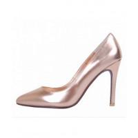 PeepToe Miss Coco Heels in Rose Gold, $229. http://www.peeptoeshoes.com.au/miss-coco.html