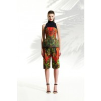 Josh Goot Pleated Short in Digital Forest, $695. http://www.joshgoot.com/collections/shop-ss13-08