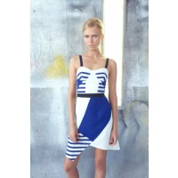 C&M CAMILLA AND MARC Vedder Dress, $269. http://www.camillaandmarc.com/vedder-dress-blue-w-cream.html