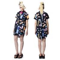 Romance Was Born Kawaii Dress, $790. http://romancewasborn.com/e-boutique/kawaii-dress-hello-collage