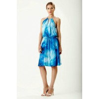 Wayne Cooper Ocean Silk Split Neck Dress, $429. http://waynecooper.com.au/shop/collections/ocean-split-neck-dress.html
