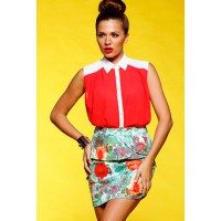 8. Stow: Winter tones. Replace with: Sun-kissed shades. Honey & Beau Hot Talk Shirt and Floral Delight Skirt. http://www.honeyandbeau.com.au/collectionslist.asp?id=3231&sp=0,61,&sid=61