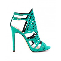 Siren Shoes Kristabelle Stiletto Sandals in Turquoise Suede, $169.95. http://www.sirenshoes.com.au/kristabelle.html?color=Turquoise%20Suede