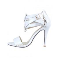 PeepToe Miss OC Heels in White, $249. http://www.peeptoeshoes.com.au/latest-arrivals/miss-oc-3578.html