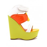 ZU Track Multi Coloured Strappy Wedge, $140. http://www.zushoe.com.au/0623-1697903.html