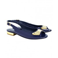Sambag Kirsten Navy High Shine Leather Sandal, $180. http://www.sambag.com.au/kirsten-navy-high-shine-leather-sandal