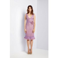 Collette Dinnigan Garden in Giverny Iris Lace Ruffle Dress, $1090. http://shop.collettedinnigan.com.au/iris-lace-ruffle-dress/