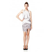 White Suede Over and Under Dress in Origami Print, $399. http://shop.whitesuede.com/Products/Ready%20To%20Wear/Dresses/Over_and_Under_Dress__WS3429O.aspx