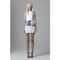 May the Label Ambassador Dress in White/Mineral, $139. http://www.maythelabel.com/shop/Shop-online/Dresses/Ambassador-Dress-WhiteMineral/
