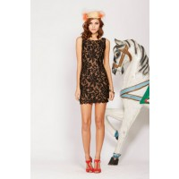 Ladakh Farrow Lace Dress in Black, $109.95. http://www.ladakh.com.au/