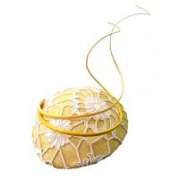 Philomena Kwok Millinery Limoncello Yellow Sinamay Beret with Ivory Corded Lace Trim, $240. http://philomenakwok.com.au/limoncello.html