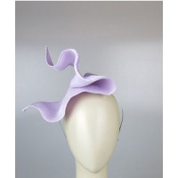 Morgan & Taylor Silvia Fascinator in Lilac, $139.95. http://morganandtaylor.com.au/product/silvia-fascinator-2/