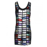 COOP by Trelise Cooper Krafty Kuts Bloc Party Dress, $499. http://www.trelisecooper.com/collections/coop/runway-winter-2014/