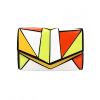 ZU Tatiana Multi-Coloured Geometric Clutch, $90. http://www.zushoe.com.au/0623-1811202.html
