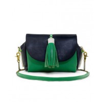 Lubochka Mashka Green Black Leather Bag from Boticca, $222.50. http://boticca.com/lubochka/mashka-green-black-leather-bag/26066/