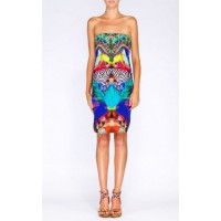 Camilla Number 88 Strapless Mini Dress, $899. http://camilla.com.au/shop/kaftans-2/number-88-strapless-mini-dress.html