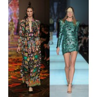 Statement prints (l-r): Camilla, Grand Showcase. Zhivago, Independent Runway. Images: Lucas Dawson Photography.